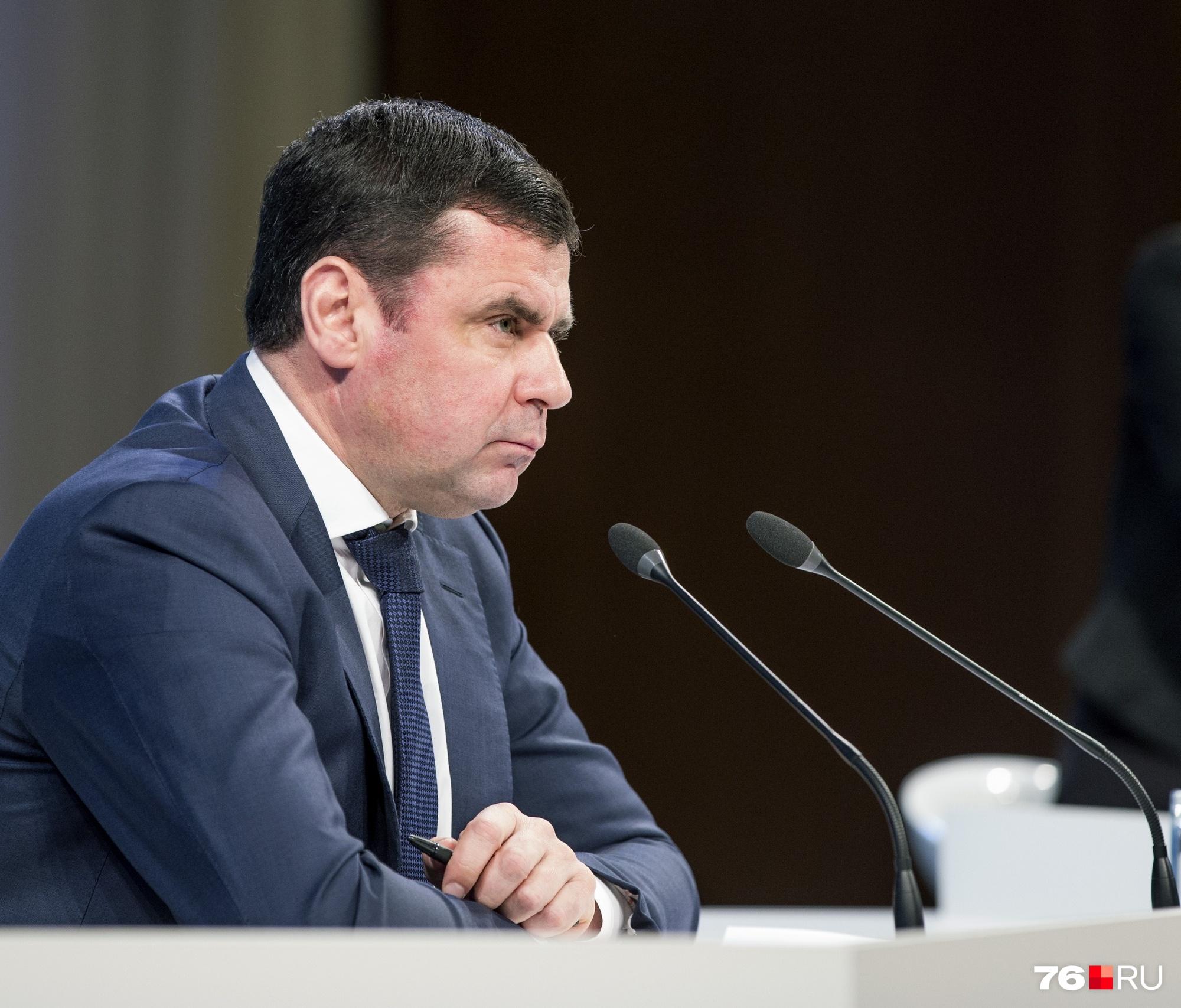 Дмитрий Миронов сообщил, что в регионе включается режим экономии областного бюдж
