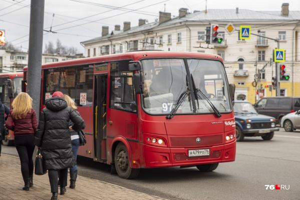 Маршрутки в Ярославле перейдут на безналичную оплату проезда
