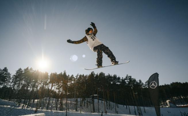 Есть где покататься: сноубордистов Тюмени пригласили на склон в «Кулига Парке»