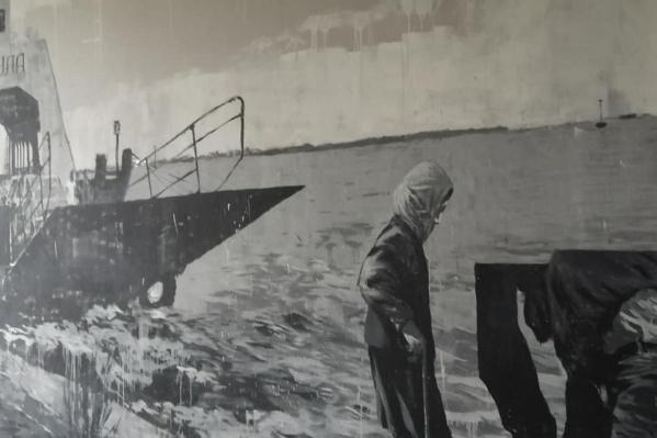 Этот паром был построен в Швеции еще в1962 году. Он возит пассажиров на Балтийскую косу