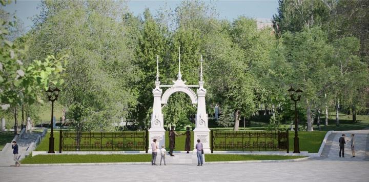 В Самаре выбрали эскиз архитектурной композиции «На сопках Маньчжурии»