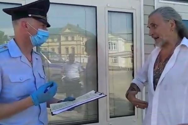 Никита Борисович удивился, что его задержали