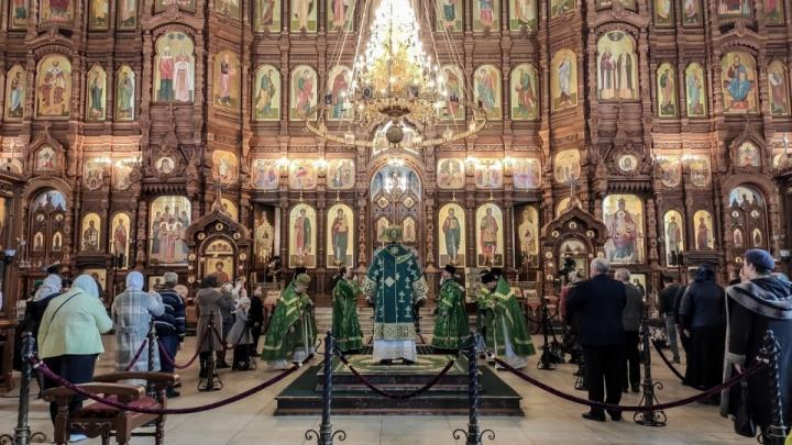 Нижегородская епархия запретила верующим посещать храмы
