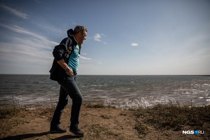 13 лет назад озеро Яровое помогло Александру восстановить здоровье