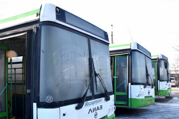 Новые автобусы передадут перевозчикам в аренду