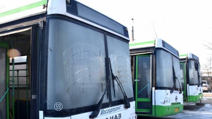В Курган направили низкопольные автобусы из Москвы