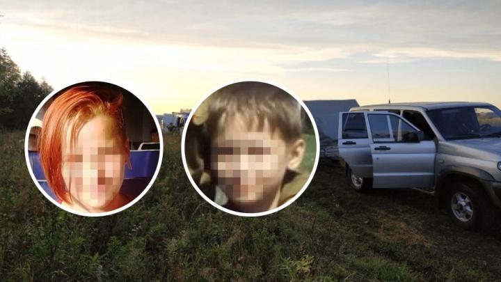 Двух пропавших под Уфой детей нашли