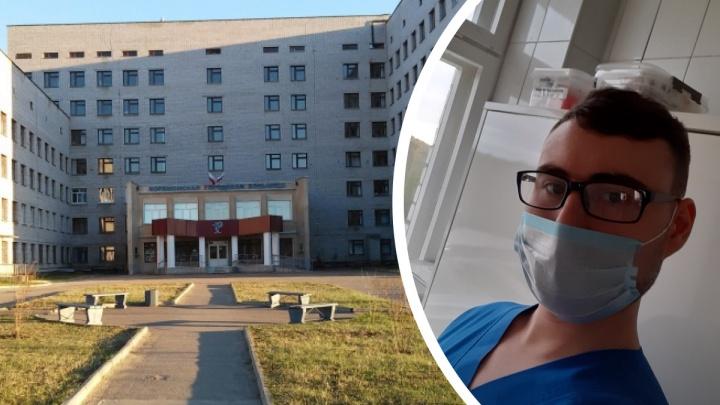 «Этаж забился битком за полтора дня»: медбрат из больницы Коряжмы рассказал, как там лечат COVID-19