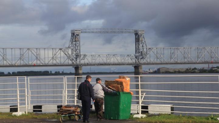 «ЭкоИнтегратор» сообщил о возможных перебоях в вывозе мусора из-за ремонта Северодвинского моста