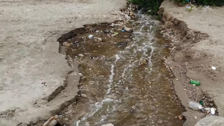 Роспотребнадзор проверил воду в месте сброса в Волгу на 9-й просеке