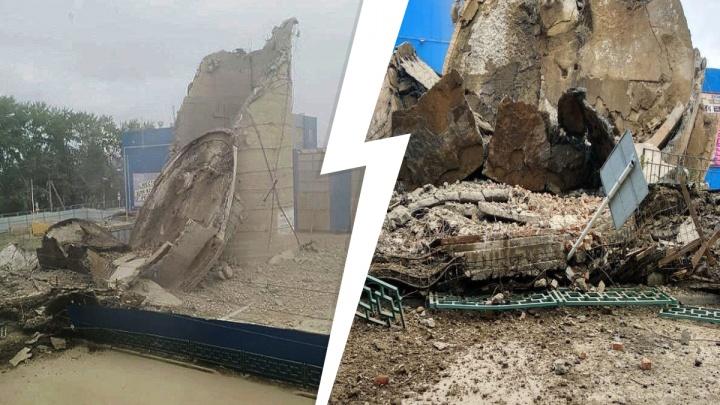 «Только чудом никого не задело»: снос водонапорной башни в Краснотурьинске прошел не по плану