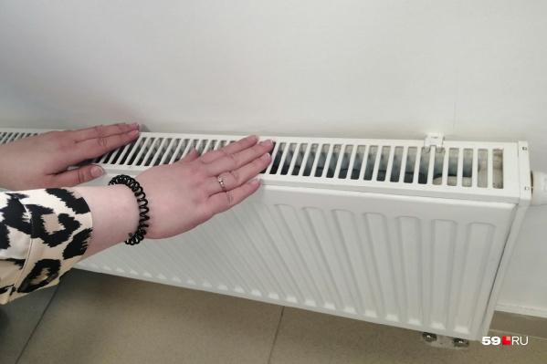 До конца недели батареи должны стать теплыми во всех домах Перми
