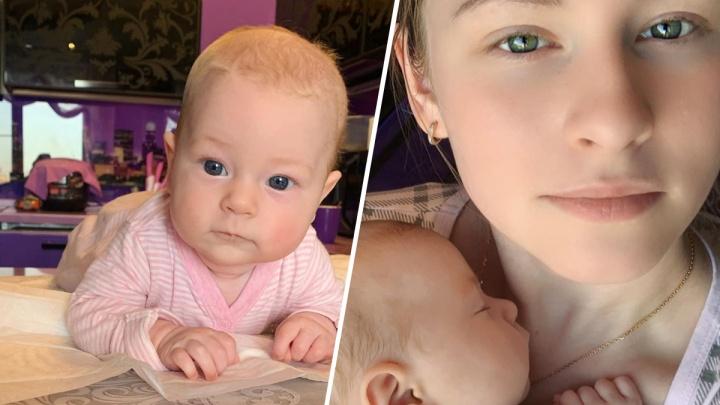 Юлия Липницкая впервые показала фото своей дочери
