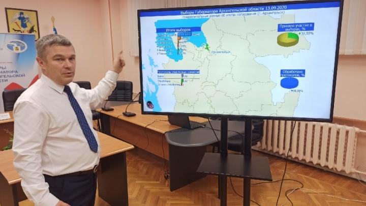 Глава избиркома Архангельской области рассказал, сколько бюллетеней испортили на выборах губернатора