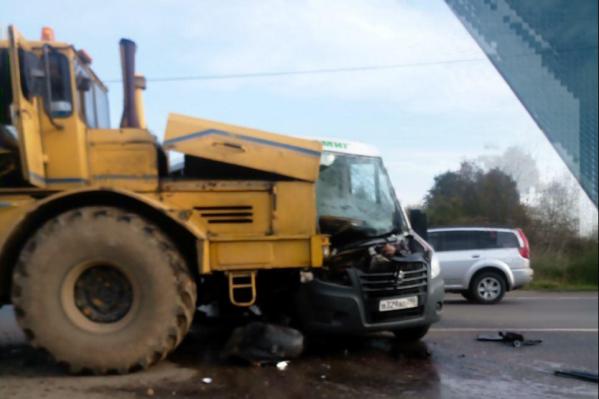 Авария произошла утром 1 октября