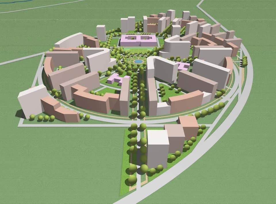 В проекте запланированы кольцевые улицы