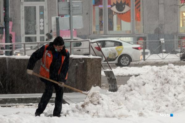 Снег будут вывозить на 11 мест складирования