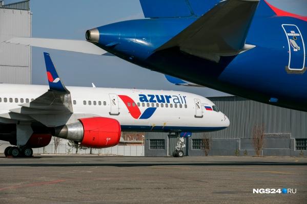 В аэропорту Красноярска из-за пандемии упал пассажиропоток. В июле он постепенно возвращается к норме