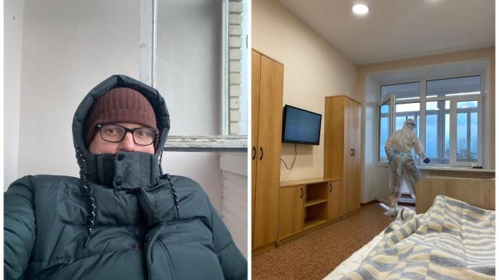 «Зачем держать здесь людей?» Екатеринбургский адвокат — о том, что его не выпускают из обсерватора