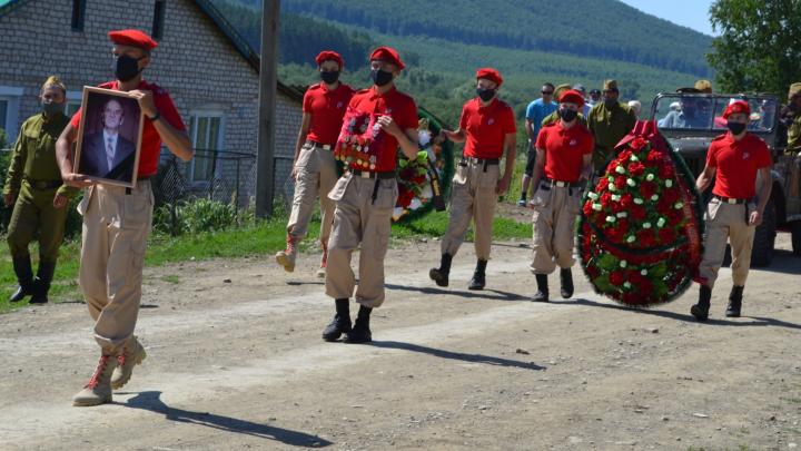 В Башкирии похоронили 100-летнего ветерана, которого зверски убили грабители