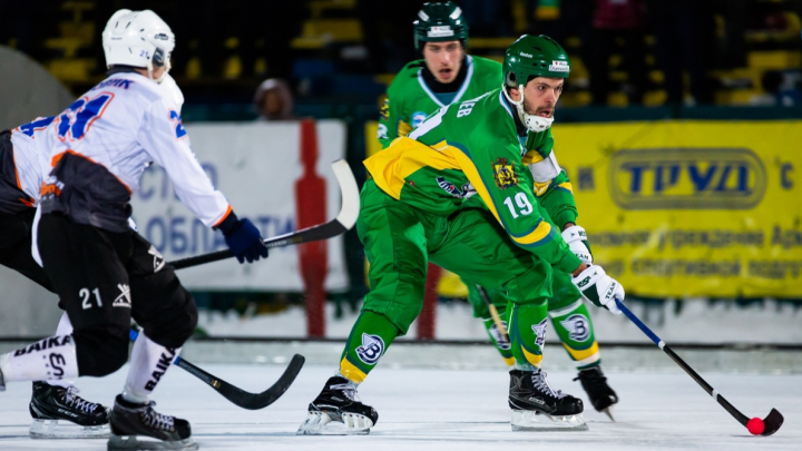 «Водник» обыграл «Байкал-Энергию» на Чемпионате России по бенди