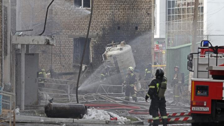 Губернатор назвал предварительную причину взрыва в ковидном госпитале Челябинска