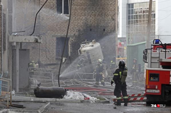 Взрыв прогремел в ГКБ № 2 на проспекте Ленина