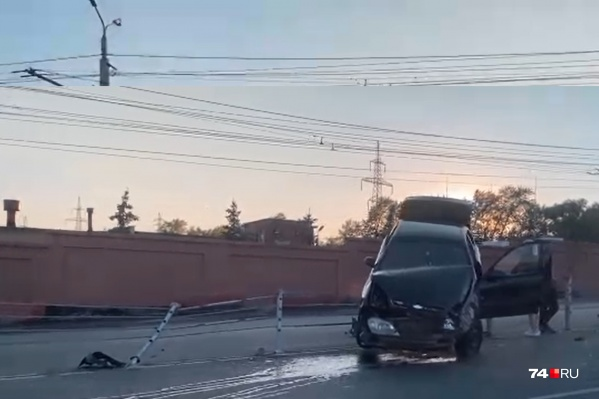 Авария произошла 8 июля на Свердловском проспекте