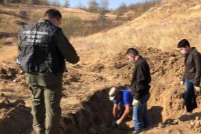 Останки нашли неподалеку от Миллерово