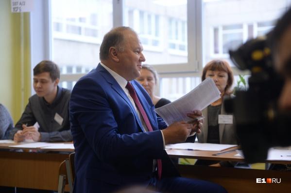 Николай Цуканов отправлен в отставку