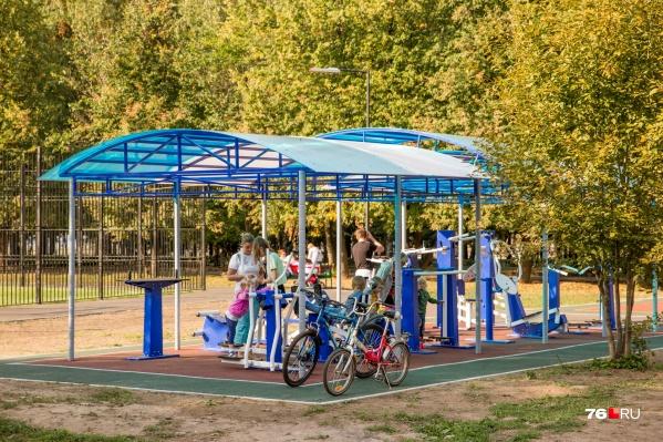 Две новые спортивно-игровые площадки появятся в Ярославле в 2021 году