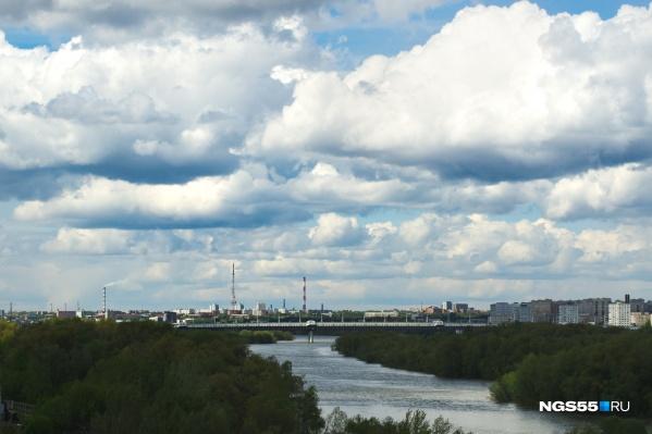 В Омске в ближайшие дни будет пасмурно