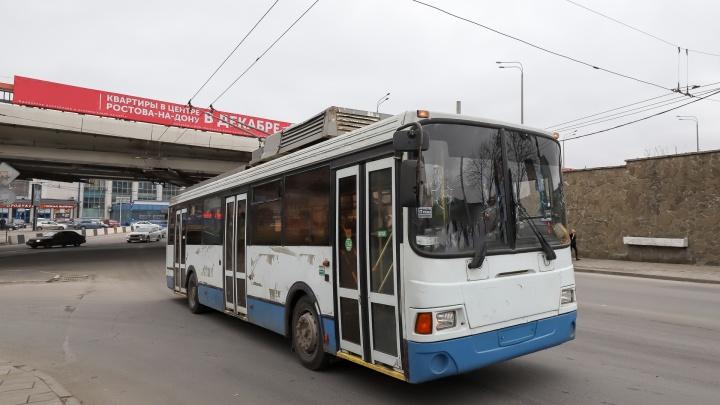 В центре Ростова из-за ДТП образовалась огромная пробка