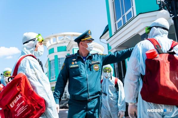 Режим повышенной готовности действует в регионе с 17 марта
