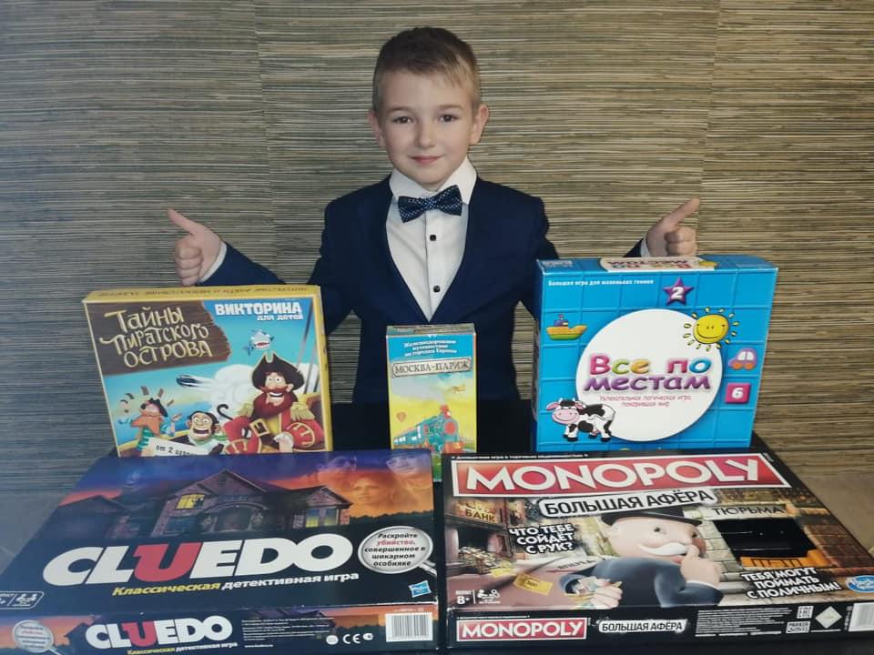 Проект«Игродум» создал девятилетний школьникЛев Мохирев