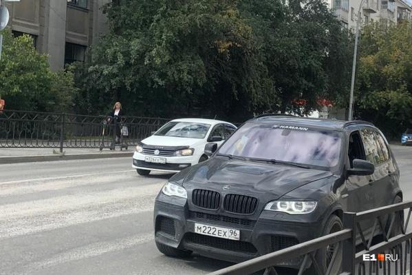 Похищение произошло прямо в центре города
