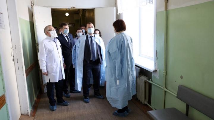 В Зауралье для предотвращения распространения коронавируса готовят еще один инфекционный госпиталь