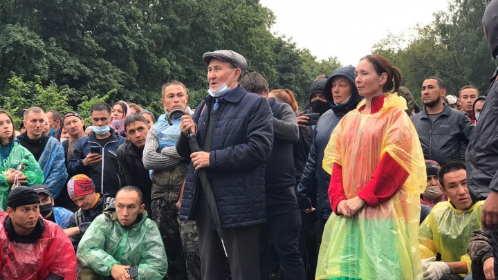 Активисты Куштау подводят итоги двух дней протестов