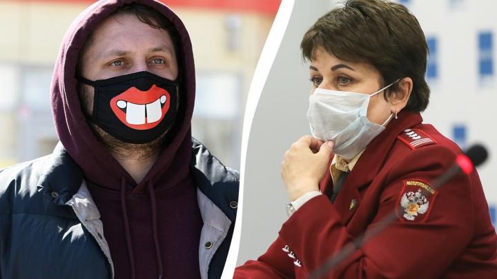 В Волгограде и области только двое из каждого десятка заболевших COVID не носили маску