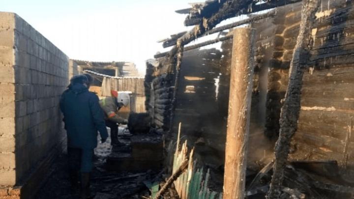В Башкирии в огне погиб маленький мальчик. В панике взрослые хватились его поздно