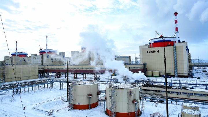 На Ростовской АЭС автоматика по неизвестной причине обесточила 1-й энергоблок