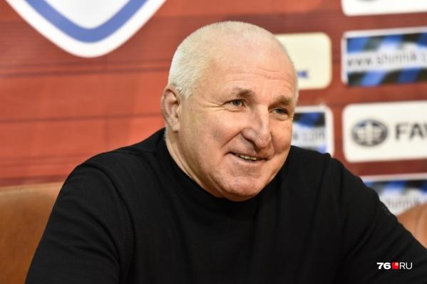 Александр Побегалов заявил, что уходит с поста главного тренера ярославского «Шинника»