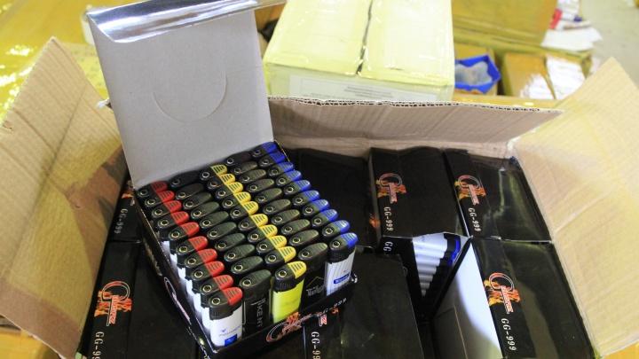 Огненный контрафакт: в Самарской области задержали партию брендированных зажигалок