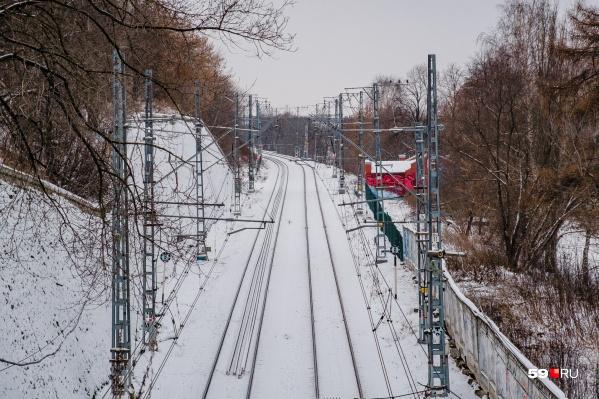Железнодорожную ветку закрыли в январе