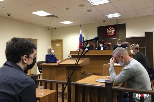 Заседание проходило в краевом суде