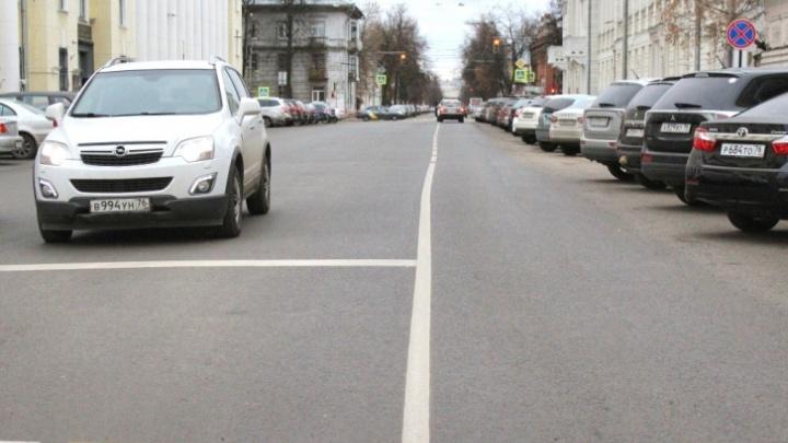 Отремонтированные прошлым летом дороги в Ярославле уже покрылись ямами