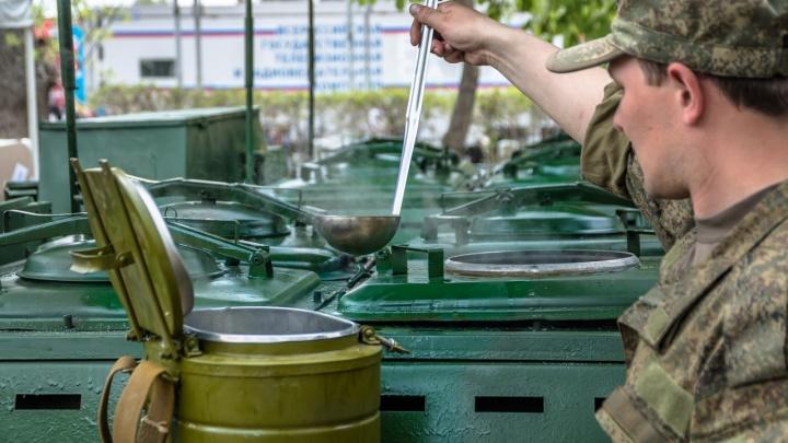 В Самарской области военные приготовят 8 тысяч порций гречки
