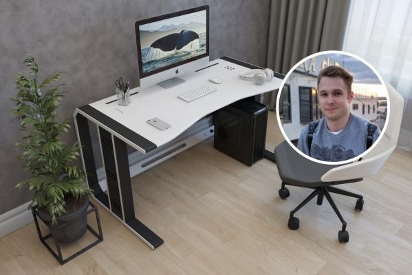 Удобный стол для компьютера обошёлся Павлу почти в 100 тысяч рублей