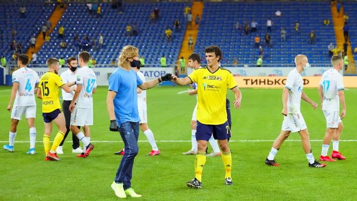 «Спорят те, у кого нормально с баблищем»: Карпин заключил пари с футболистами «Ростова»