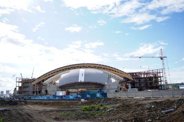 Строительство Ледового дворца должно завершиться в 2021 году